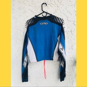 Vintage motocross jersey Cropped One of a kind Custom